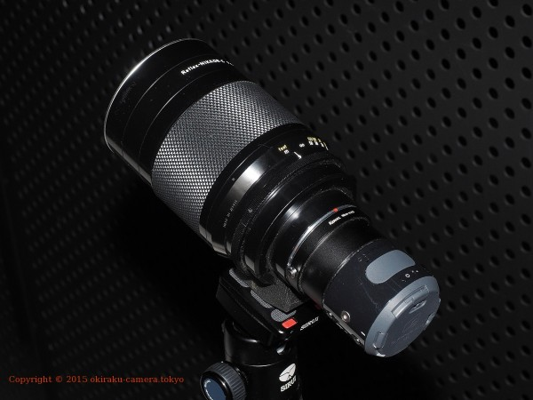 AIR A01 + Reflex 500mm