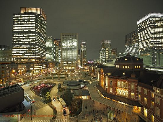 東京駅と駅前広場