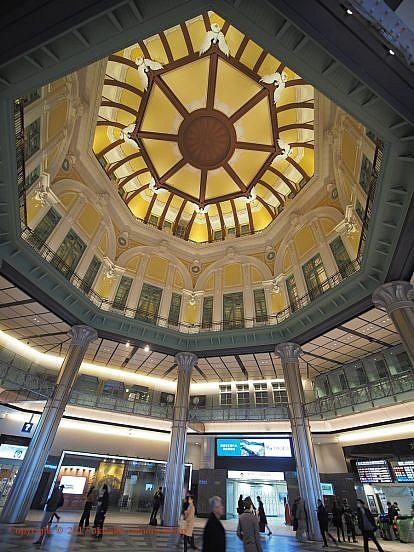 東京駅丸の内北口ドーム天井
