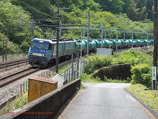 中央本線の貨物列車